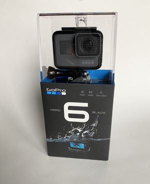 GoPro HERO 6 Action Camera Black plus EXTRAS for Sale in Mason, OH
