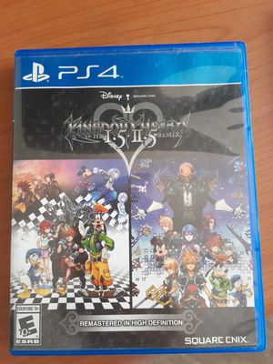 Kingdom Hearts 1.5 + 2.5 Remix For Playstaion 4 for Sale in El Monte, CA