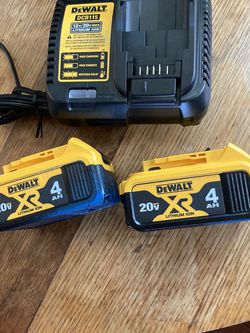 DEWALT Battery Package for Sale in Damascus,  OR