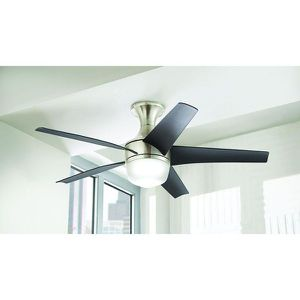 Home Decorators Collection Tuxford 44 in. LED Indoor Brushed Nickel Ceiling Fan with Remote Control. Brand New! for Sale in Plantation, FL