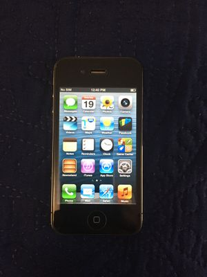 iPhone 4s 16gb black excellent conditions! for Sale in Paducah, KY