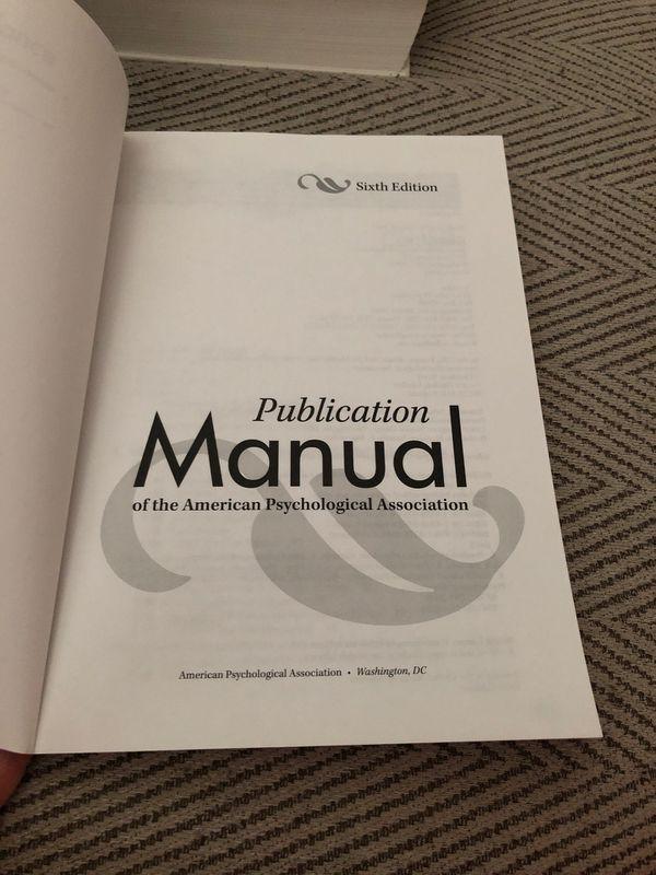 APA book