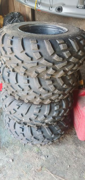 Polaris ranger stock wheels and tires for Sale in Britton, MI