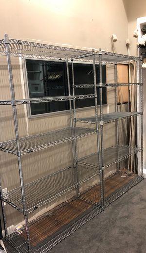 Bakers rack / metro rack / Storage rack / metal rack for Sale in Los Angeles, CA