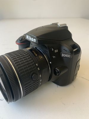 Nikon d3400 d 3400 DSLR digital camera for Sale in Los Angeles, CA