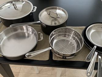 All-Clad LTD 9-piece cookware set for Sale in Edgewood,  FL