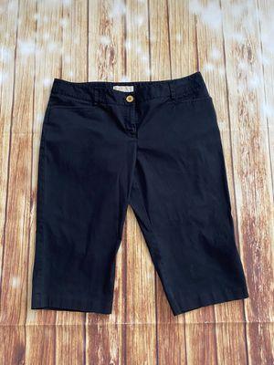 Michael Kors Women's Black Bermuda Shorts Sz 12 for Sale in Las Vegas, NV