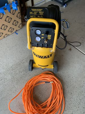 Brand new dewalt 15gal compressor for Sale in Morgan Hill, CA