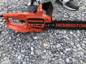16'' Remington Electric Chain saw for Sale in Waynesboro, VA