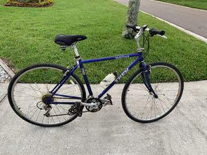 Trek multi track 750,19 inch frame 27 inch wheels has two broken spokes on the rear wheel that need to be fixed that's why I'm selling it for 250 ins for Sale in Palm Harbor, FL