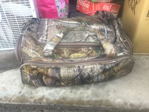 Camouflage duffel bag baggage for Sale in Sacramento, CA