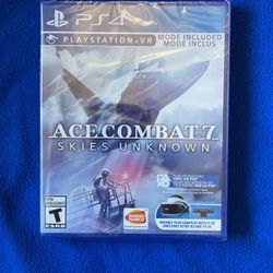 PS4 Ace Combat 7 Skies Unknown (Brand New ) for Sale in Nashville,  TN