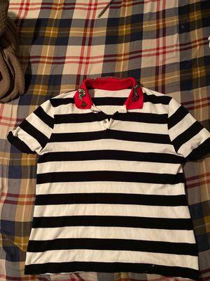 Large white Gucci polo shirt for Sale in Phoenix, AZ