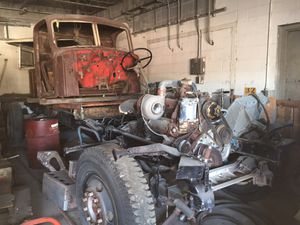 1956 mac truck with misl parts for Sale in Dearborn, MI