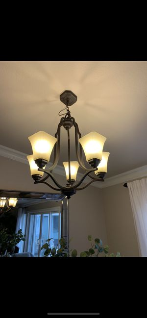 Chandelier light fixture for Sale in Roseville, CA