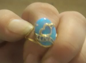 10k yellow gold moonstone ring size 8 for Sale in Adairsville, GA