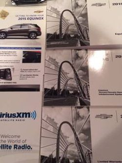 **Brand New Chevy Equinox OEM Complete Manual Set For Sale! for Sale in Chicago,  IL