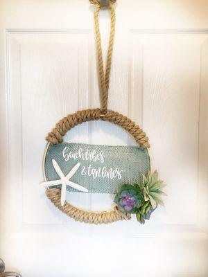 Handmade Summer Beach Wreath 12inches for Sale in Enterprise, AL