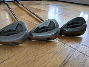 Ping Tour Gorge wedge 52, 56, 60 black dot CFS steel S/S for Sale in Falls Church, VA