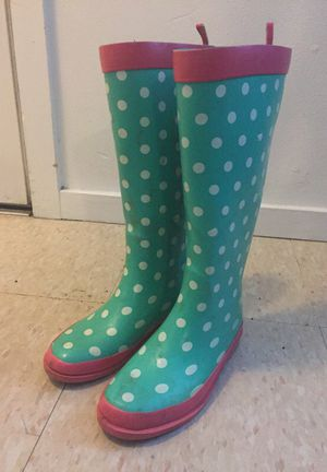 Rain boots for girls size 2 for Sale in Seattle, WA