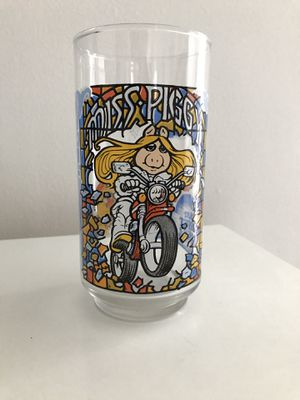 McDonald's The Great Muppet Caper Collectible Glass 1981 Miss Piggy for Sale in Denver, CO