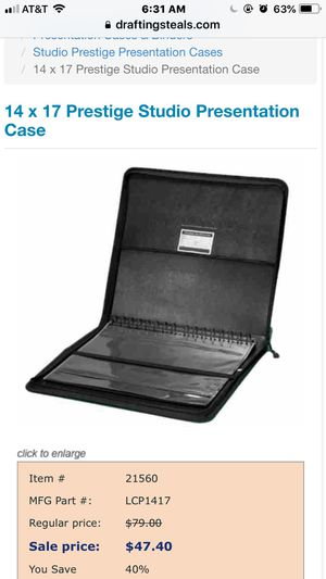 """BRAND NEW 14"""" x17"""" Presentation case and more for Sale in Ashburn, VA"""