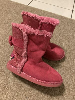 Minnie Mouse boots size 12 for toddler girl for Sale in Dearborn Heights, MI