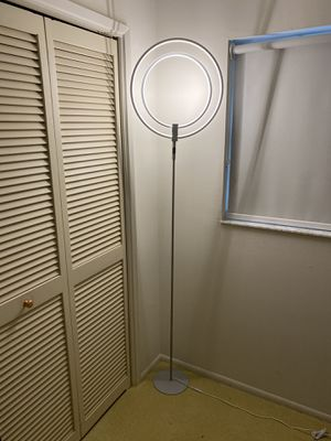 Floor lamp and 2 matching table lamp led spheres. for Sale in Pompano Beach, FL