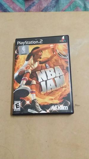 NBA JAM, PS2 for Sale in El Cajon, CA
