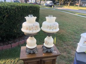 Antique converted oil lamps for Sale in Swanton, OH