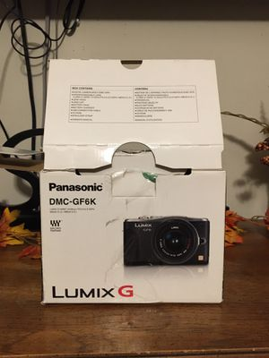Panasonic LUMIX GF6 for Sale in Canyon, TX