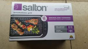 Salton Smokeless Indoor BBQ Grill for Sale in Cleveland, OH