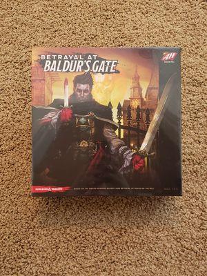 NEW Betrayal at Baldur's Gate Board Game for Sale in Washington, PA