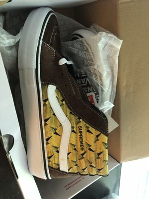 Supreme sk8 hi vans 10.5 for Sale in Norfolk, VA