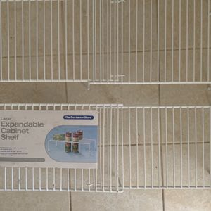 2 Expandable Cabinet Shelves Container Store for Sale in Claremont, CA