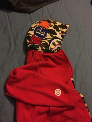 Bape hoodie (used) for Sale in Spring, TX