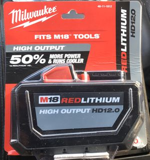 High Output 12.0 Red Lithium m18 Battery for Sale in Lake Worth, FL