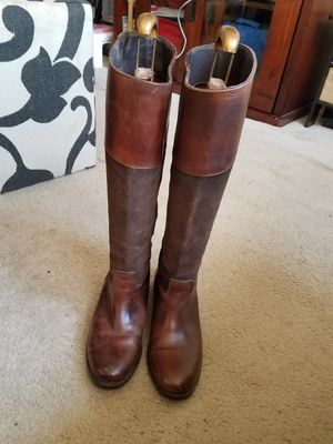 Very nice brown leather boots. for Sale in Brentwood, MD