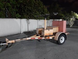 15x7 utility trailer for Sale in Fort Lauderdale, FL