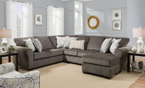 Brand new cozy sectional with Chaise. for Sale in Norfolk, VA