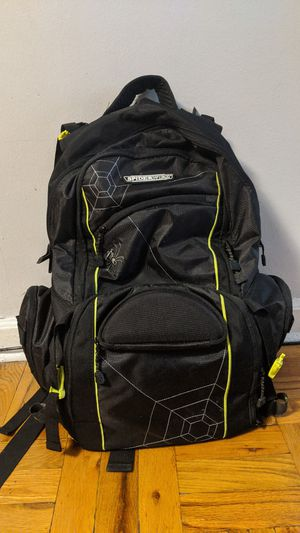 Spiderwire fishing tackle backpack for Sale in Queens, NY