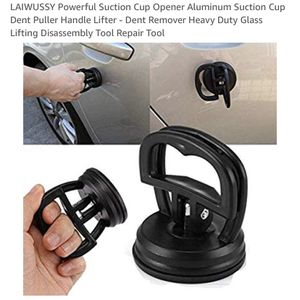 LAIWUSSY Powerful Suction Cup Opener Aluminum Suction Cup Dent Puller Handle Lifter - Dent Remover Heavy Duty Glass Lifting Disassembly Tool Repair T for Sale in Miami, FL