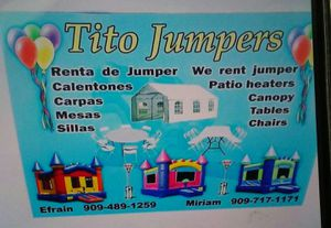 Tito jumpers for Sale in Montclair, CA