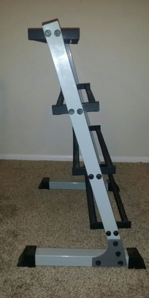 4 tier dumbbell rack. 3 foot tall, 24 inches wide. for Sale in Deerfield Beach, FL