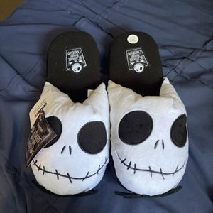 Nightmare before Christmas jack slippers for Sale in National City, CA