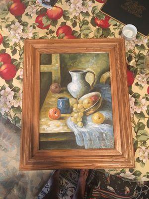 T Denver Oil on Canvas Still Life for Sale in Philadelphia, PA