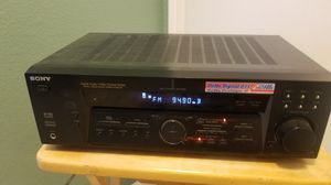 Sony STR-K840P stereo receiver with remote for Sale in San Diego, CA