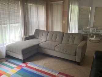 Grey Sleeper Sofa Sectional for Sale in Orlando,  FL