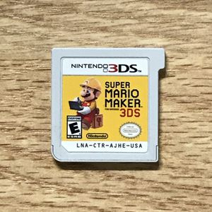 Super Mario Maker 3DS Game for Sale in Banning, CA