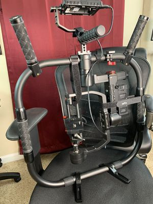 DJI Ronin-M 3-Axis Handheld Gimbal Stabilizer With Grip Stand, Legs ( feet ), 4K Screen for Sale in Cordova, TN